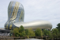 La Cité du Vin (The City of Wine Museum) in Bordeaux