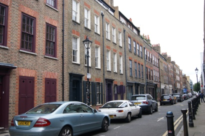 Wilkes St in London -- near the prowling grounds of Jack the Ripper