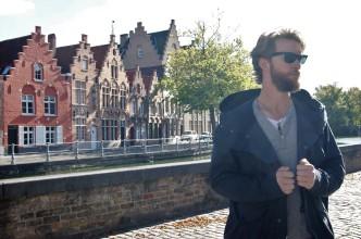Wandering around Sint-Gillis Quarter in Bruges