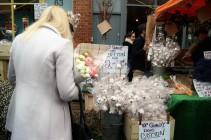 Columbia Rd Flower Markets, London