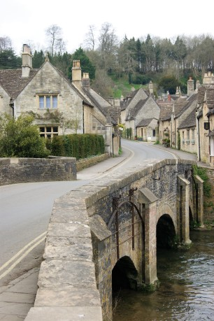 Castle Combe in The Costwolds