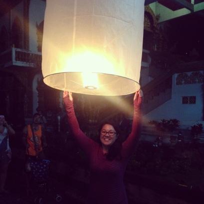 Celebrating Loi Krathong & Yi Peng in Chaing Mai
