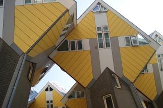 Kubuswoningen - the Cube Houses in Rotterdam