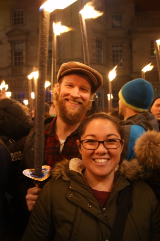 Celebrating Hogmany in Edinburgh