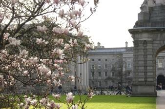 Parliament Sq in Trinity College, Dublin