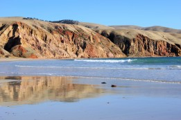 The beautiful cliffs at Sellicks Beach